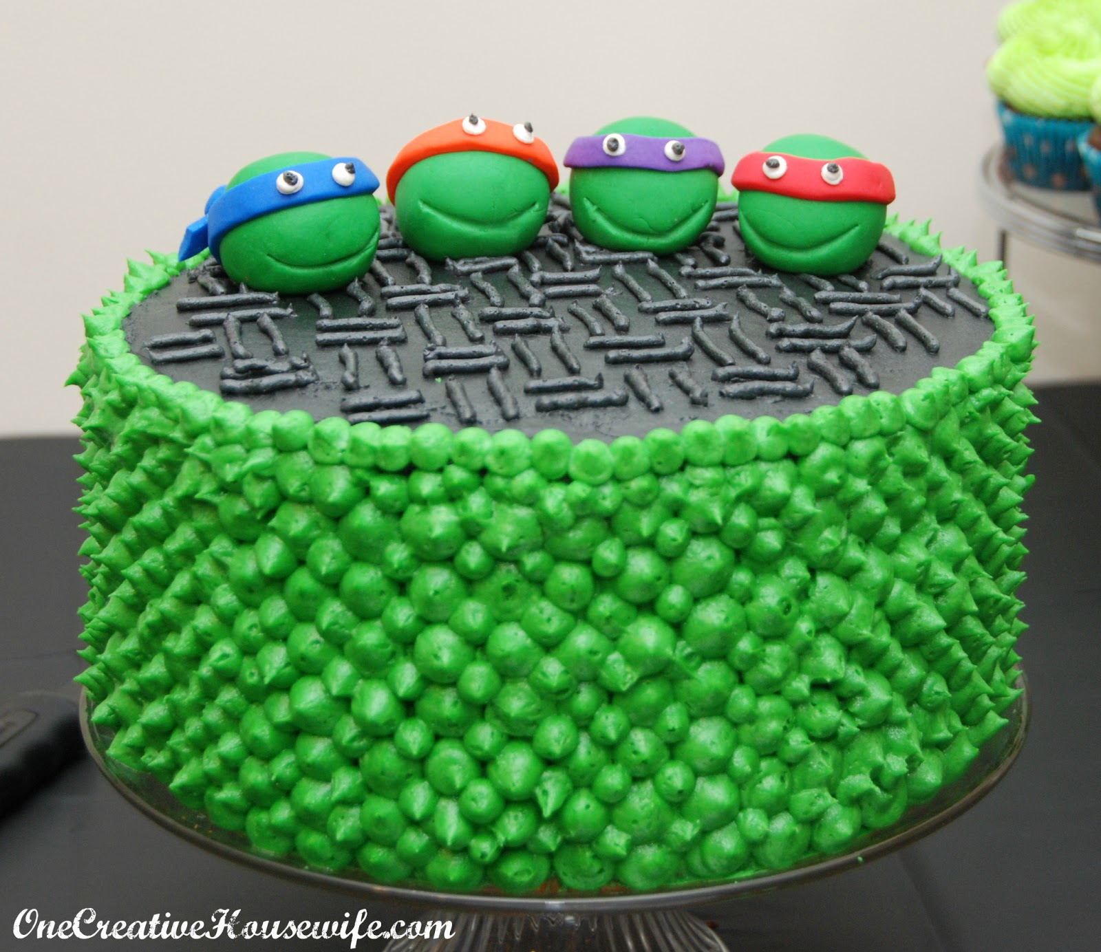 One Creative Housewife Teenage Mutant Ninja Turtle Party Part 2
