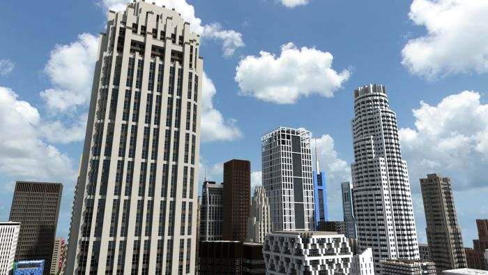 Minecraft City Damn Cool Pictures