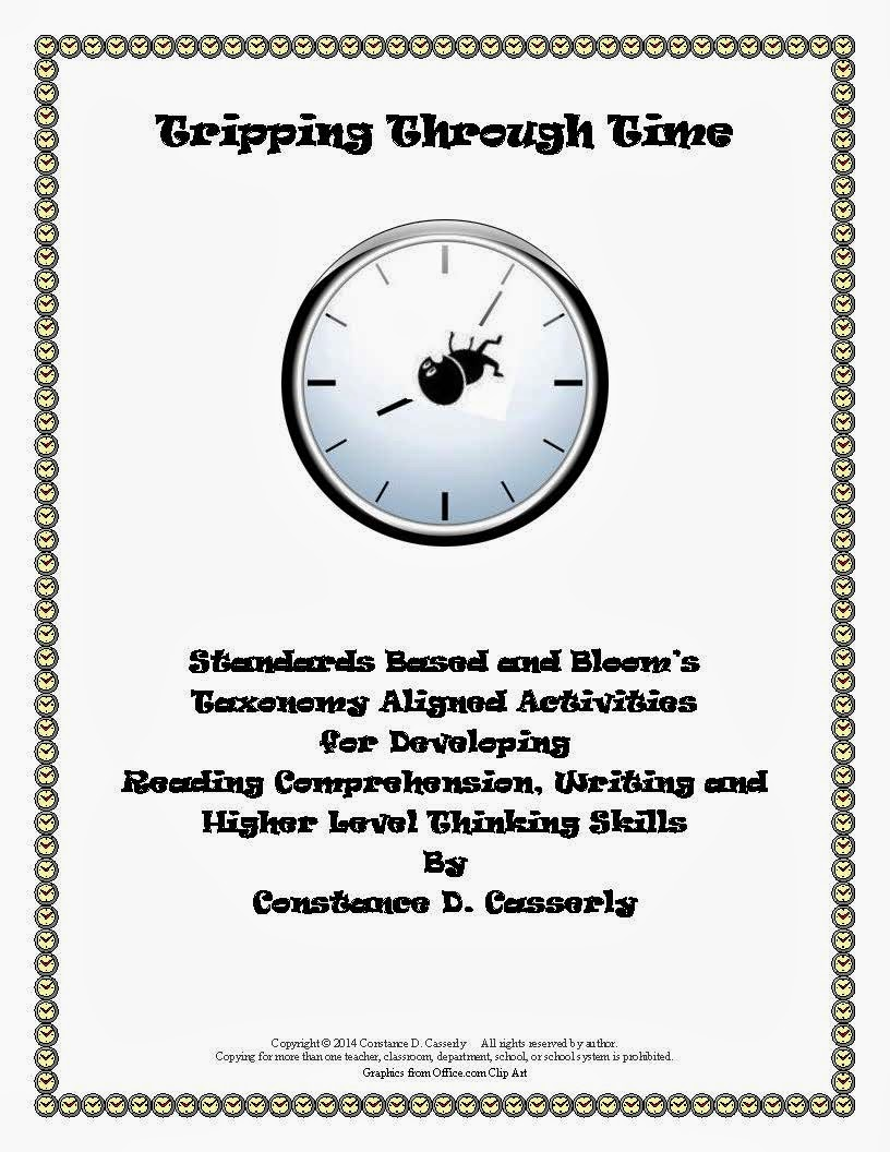 Language Arts Activity - Tripping Through Time cover