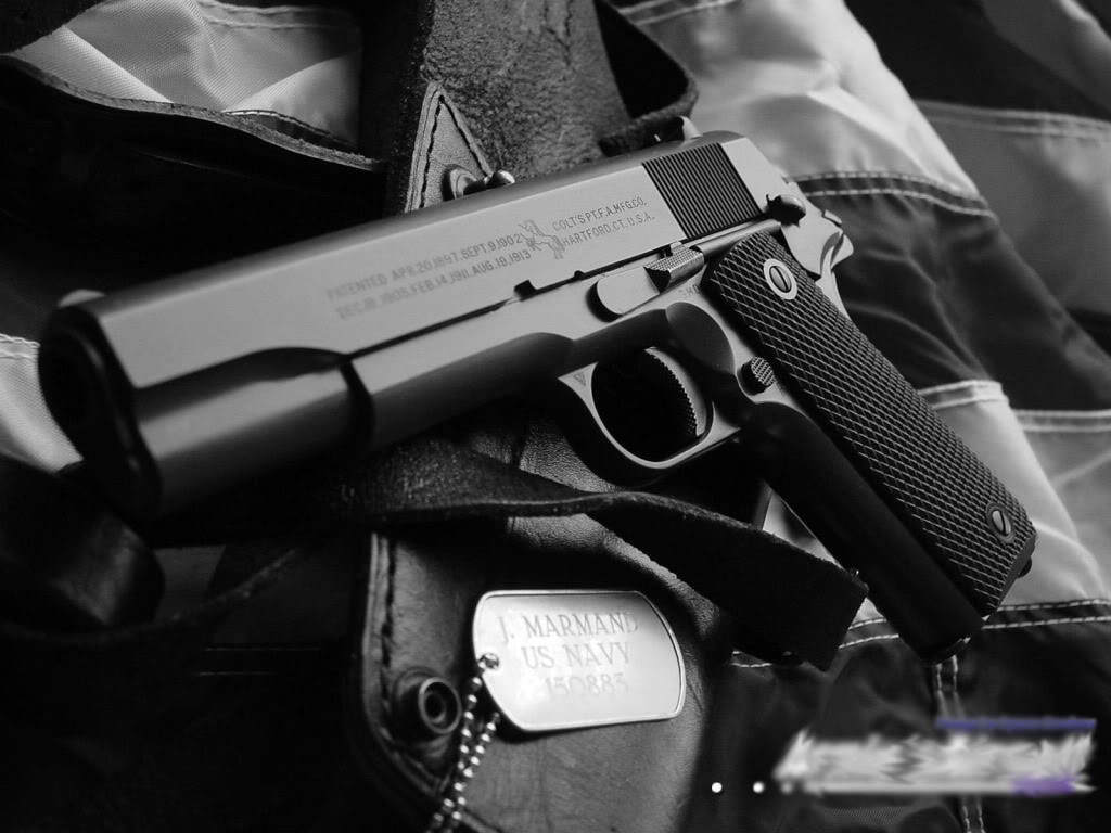 ... colt m1911 cool wallpaper dual pistols military tanks wallpapers hd