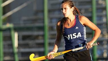 Martina Cavallero, ex Matreros, en JJOO 2012