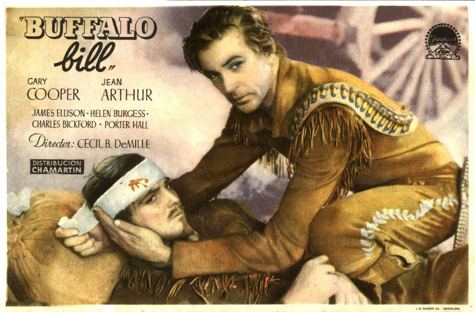 mi enciclopedia de cine 1936   buffalo bill   the plainsman carteles