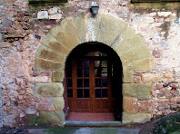 Porta d'entrada al mas dels Torrents del Prat