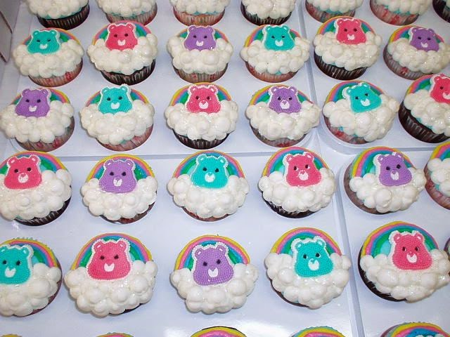 Cupcakes de Ositos Cariñositos