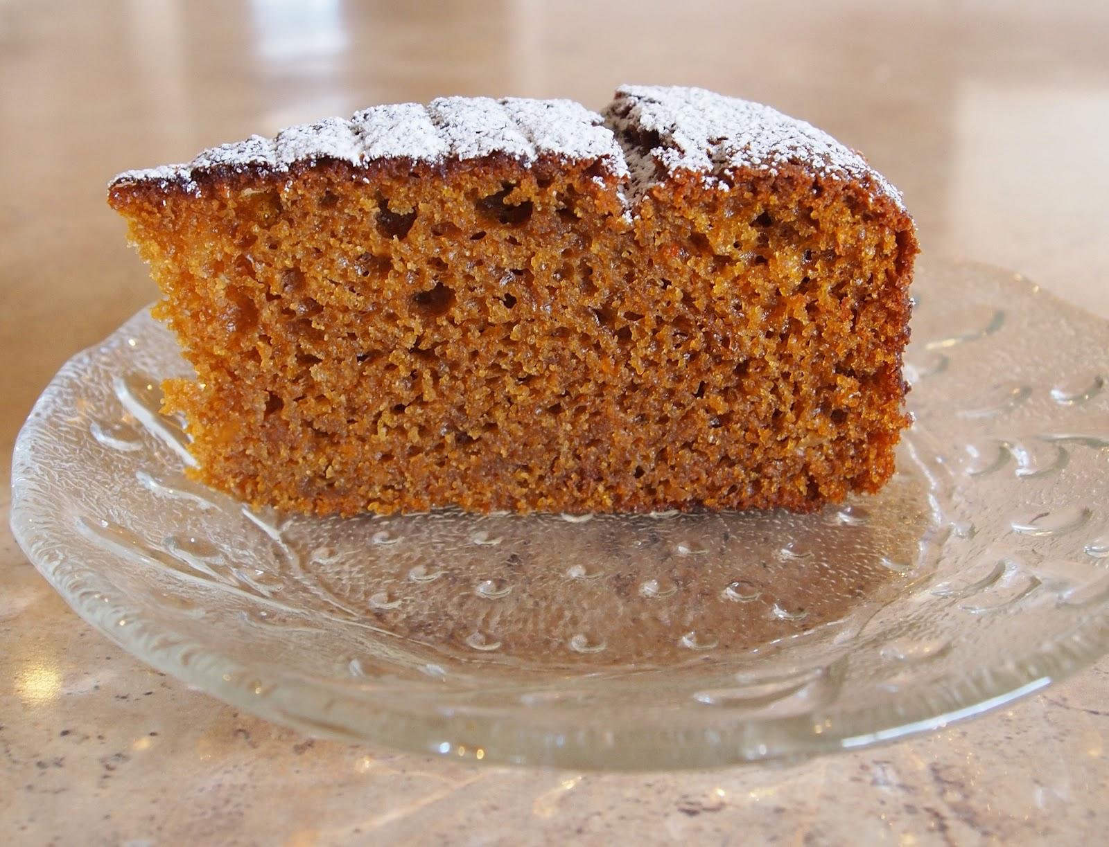 The Bush Gourmand: Pumpkin & Ginger Cake