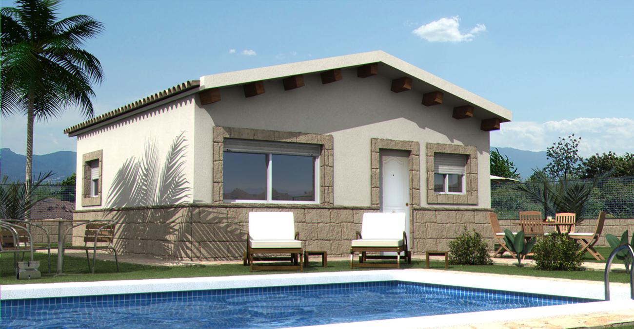 Casas prefabricadas y modulares modelos standard for Modelos casas prefabricadas