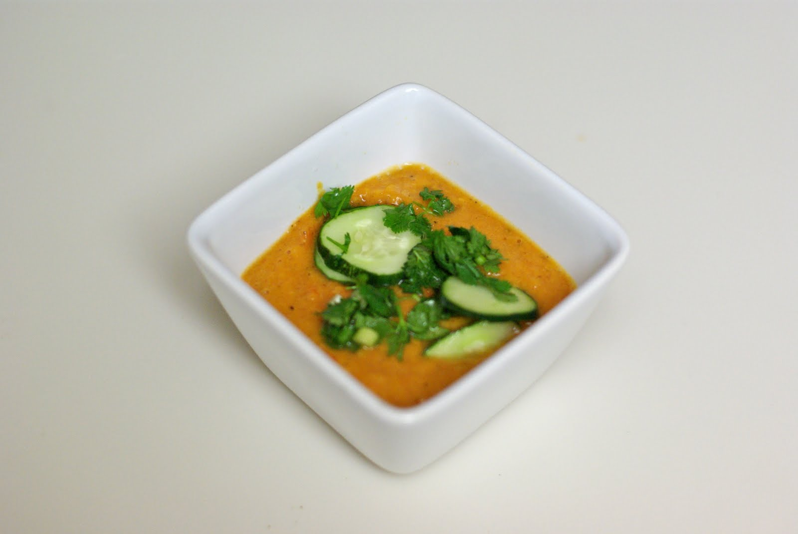 Happy Little Baker: Grilled Vegetable Gazpacho