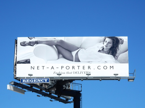 Net-A-Porter Fashion that delivers billboard