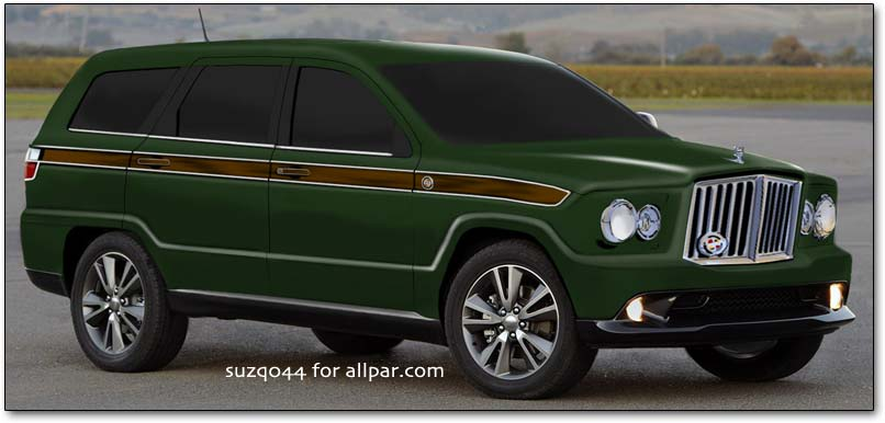 New Jeep Grand Wagoneer