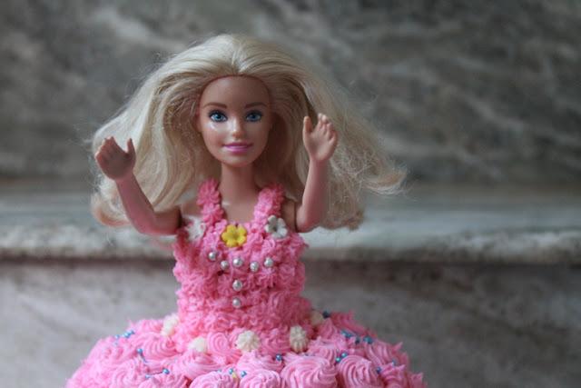 Barbie Birthday Cake Recipe – How to Make a Barbie Doll Cake at Home