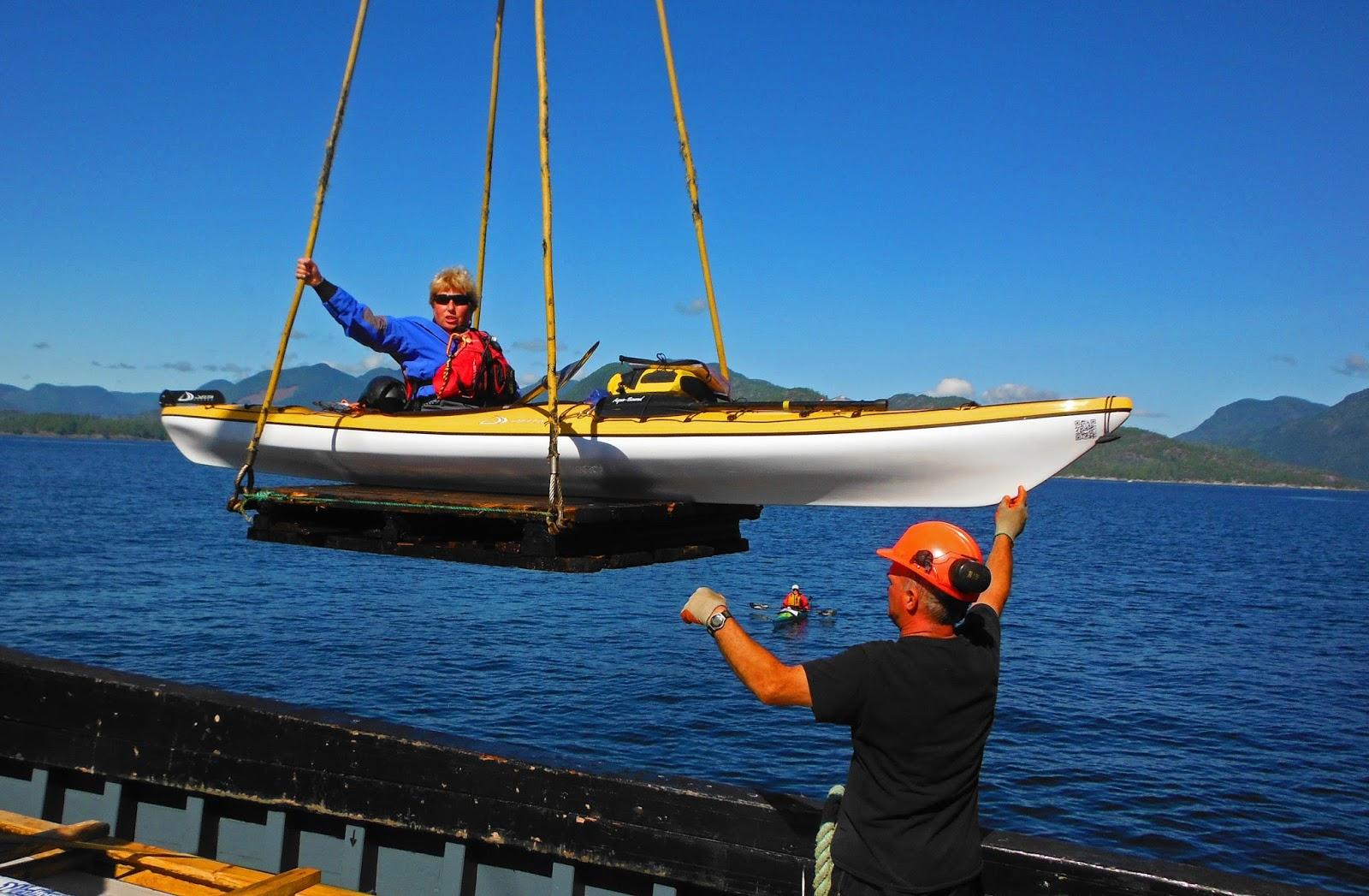photo of kayak wet launch