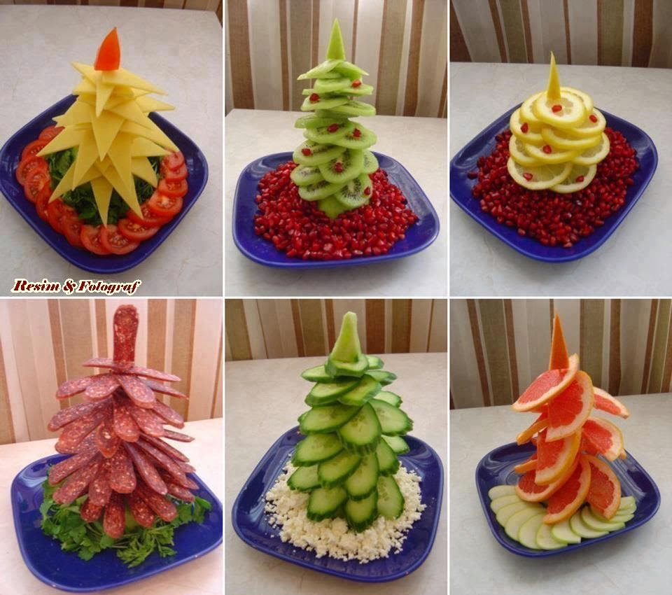 Ideas mil ideas adornos para la mesa de navidad - Adornos navidad faciles ...
