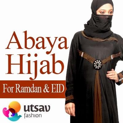 Pakistani Abaya and Hijab Dresses