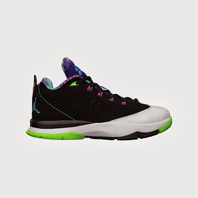 Jordan CP3.VII (3.5y-7y) Boys' Basketball Shoe # 616807-015