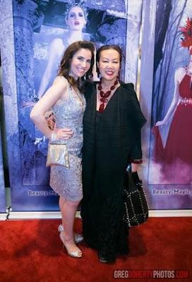 Vida Ghaffari and Sue Wong