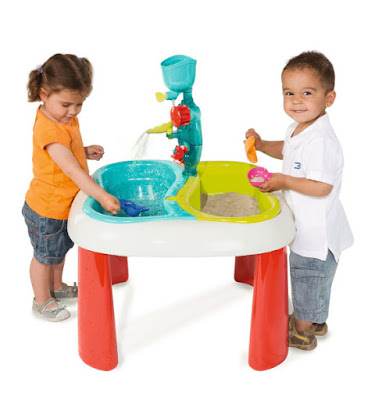 JUGUETES - Smoby - Mesa agua y arena   Infantil  Producto Oficial   Smoby 310063   Comprar en Amazon España