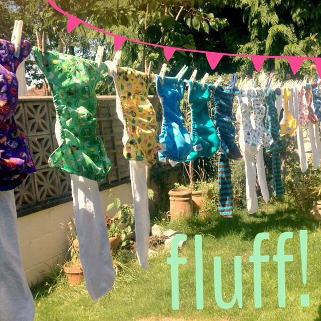 Cloth nappies, diapers, fluff