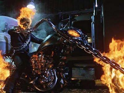 Harley Chopper do Motoqueiro fantasma