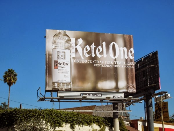 Ketel One Vodka billboard Oct 2013