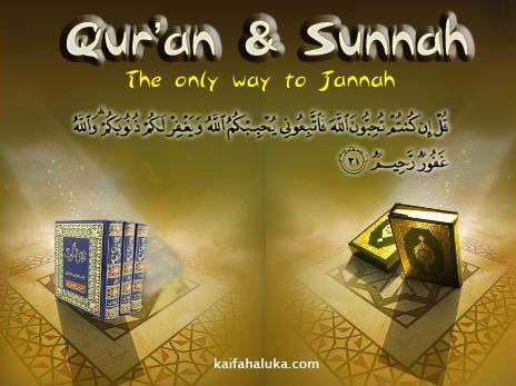 Berpegang Teguh dengan Sunnah Nabi