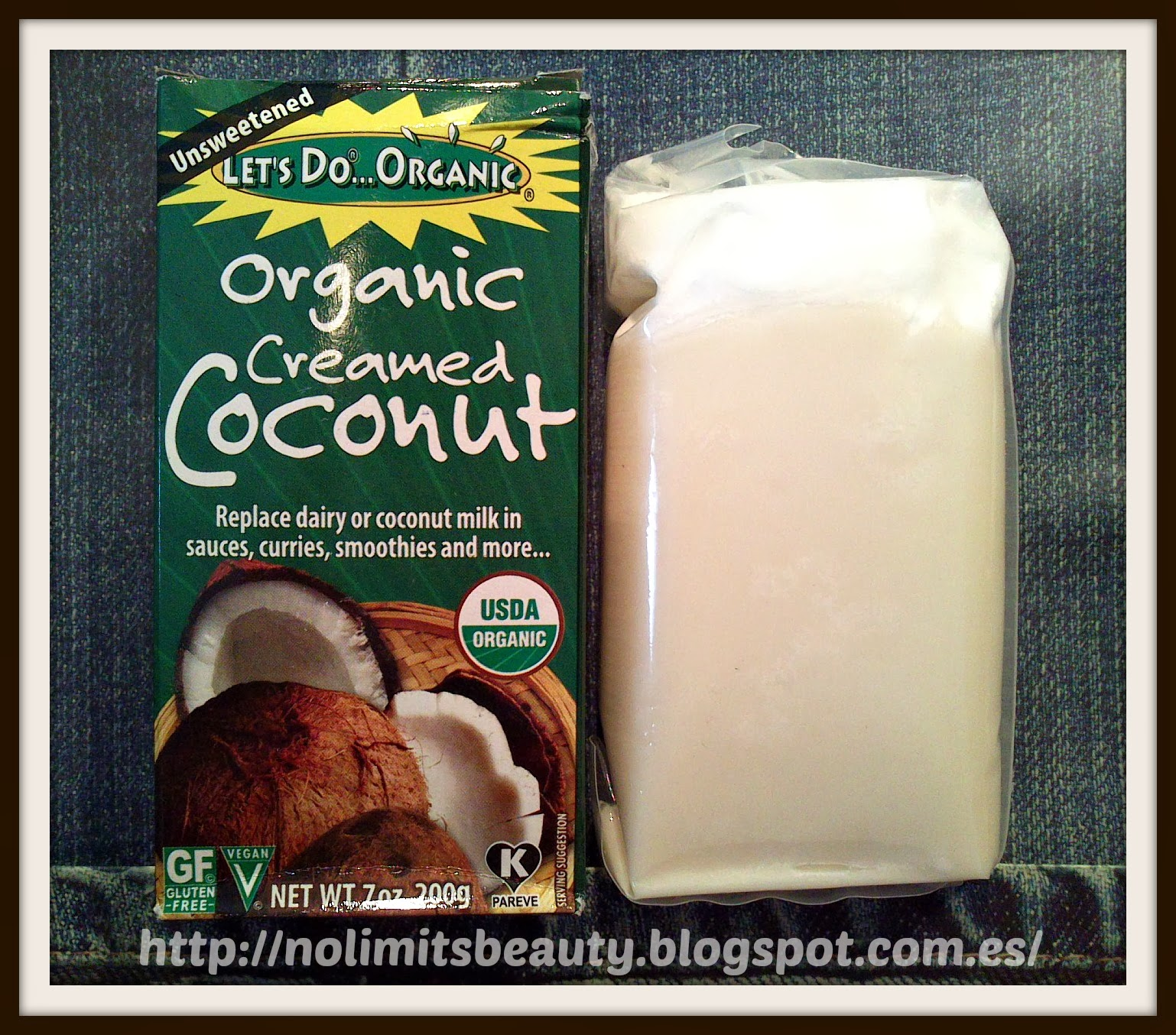 iHerb - Organic Creamed Coconut de Lets Do Organic