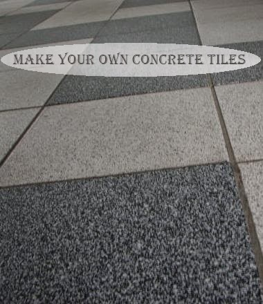 Make Your Own Concrete Tiles