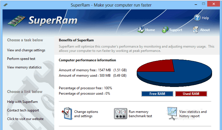 Pgware RAM