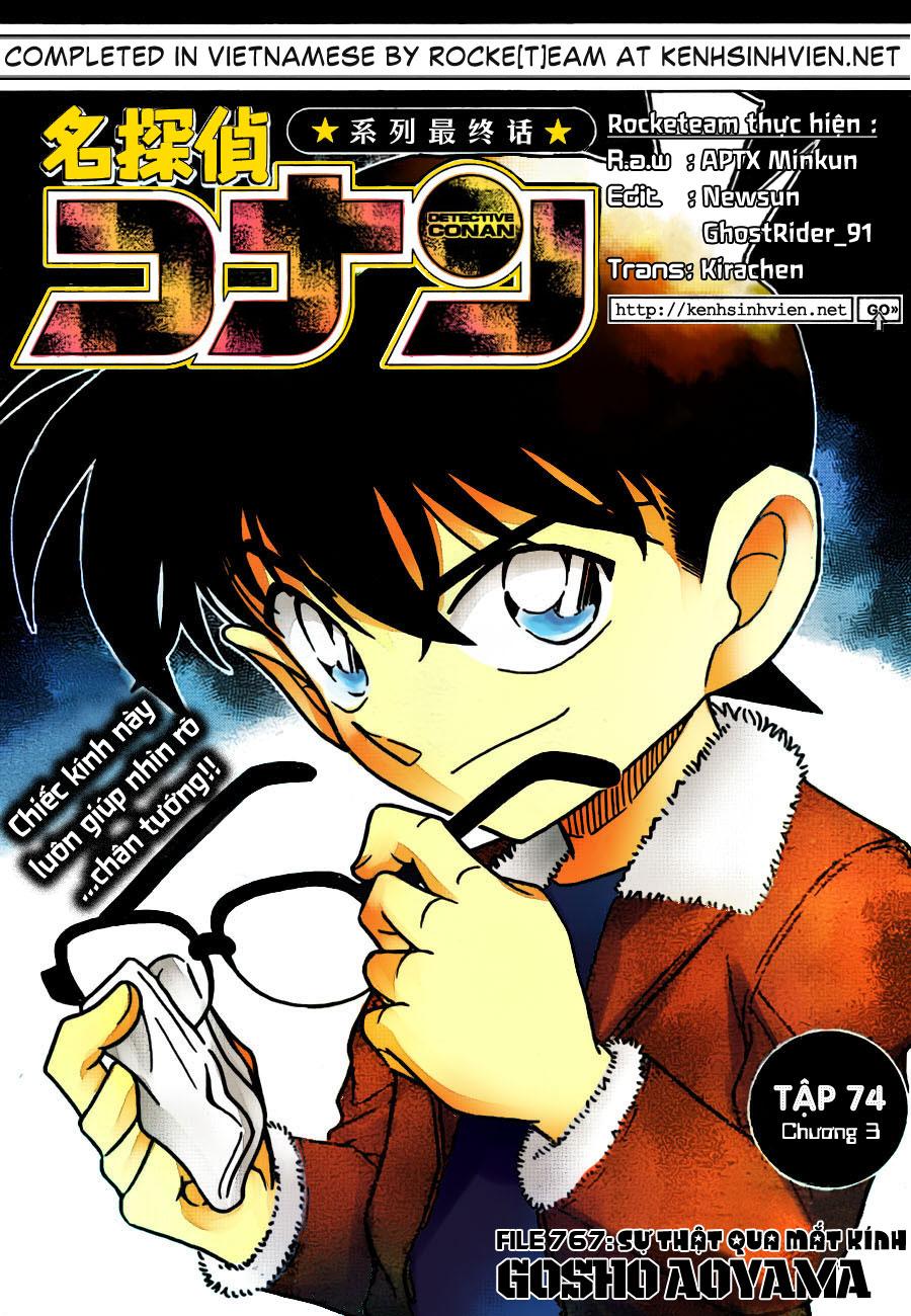Detective Conan - Thám Tử Lừng Danh Conan chap 767 page 1 - IZTruyenTranh.com