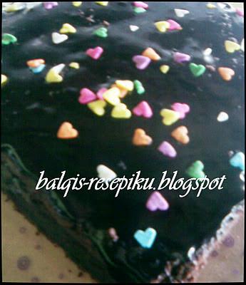 Kek Coklat Lembab