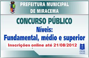 Clique no cartaz para inscrição/edital no site do CEPUERJ