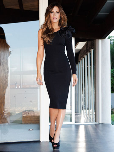 Kate Beckinsale Hiarstyle on Redbook Magazine January 2012 - 3