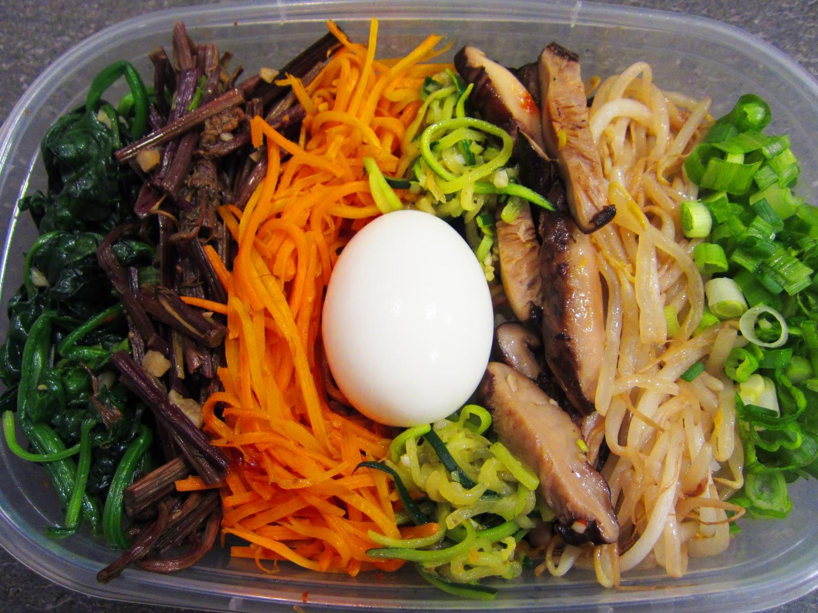 Vegetarian Bibimbap Tasty Eating: Lunch We...