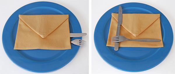 napkin folding, fabric folding, envelope, napkin ideas, napkin origami, fabric origami