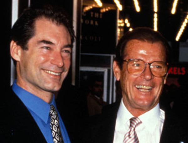 Roger Moore Sean Connery If sean connery and george