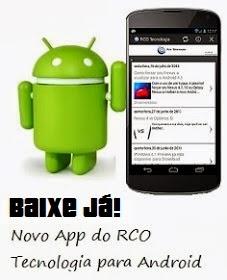 RCO Tecnologia para Android!