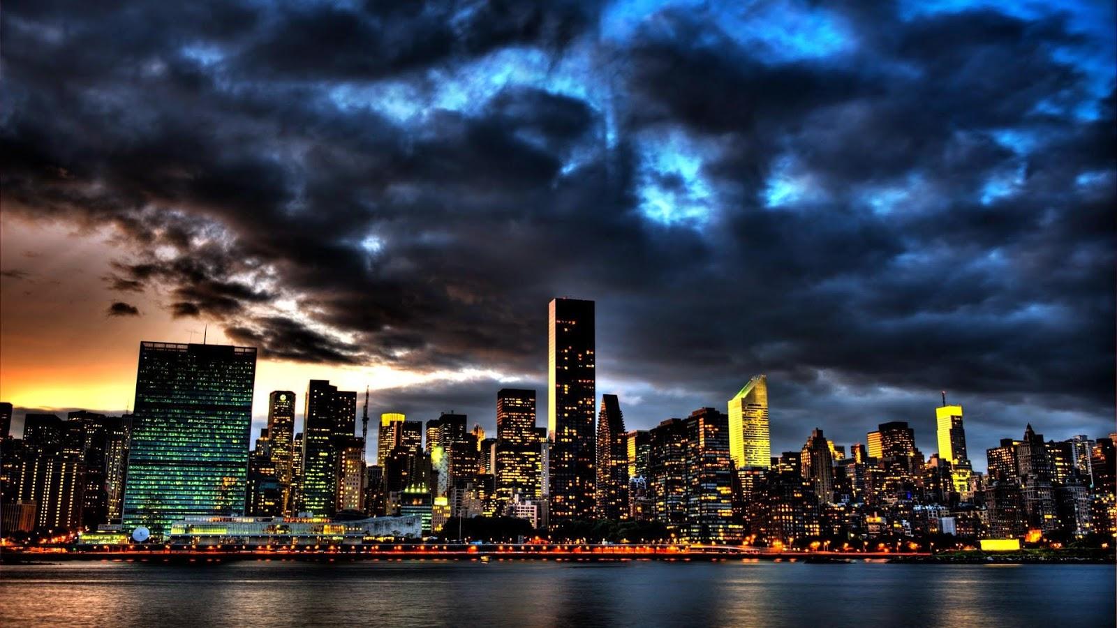 New york city lighting desktop best wallpaper