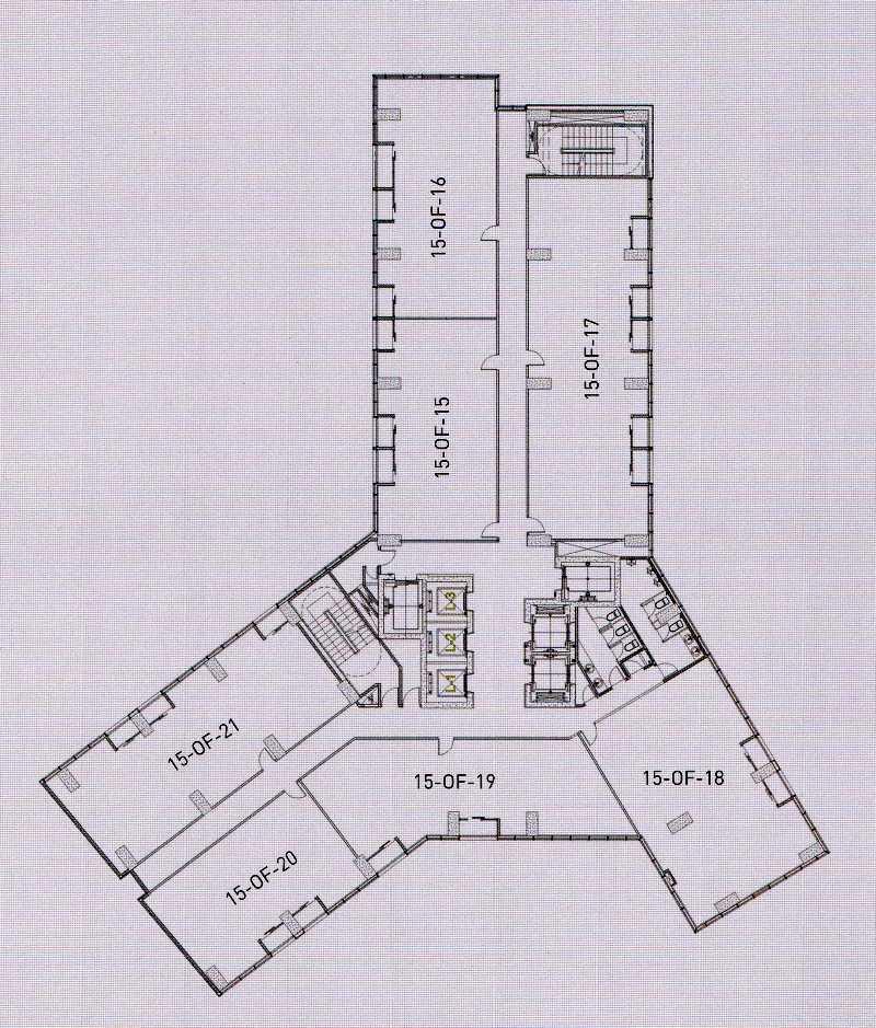 Apartment office gp plaza gatot subroto site plan for Apartment site plan