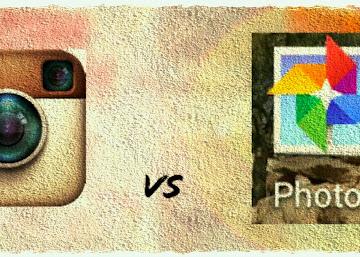 Instagram vs Google Photos
