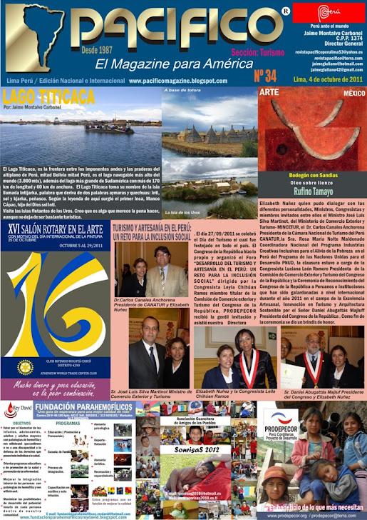 Revista Pacífico Nº 34 Turismo