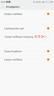 notififasi pilihan xiaomi