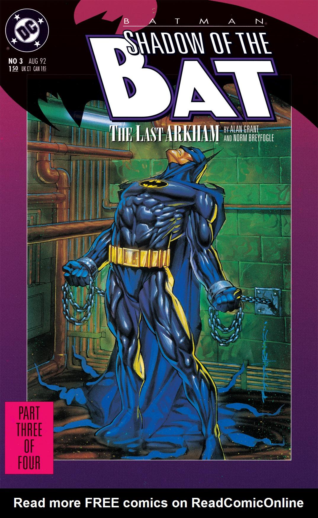 Batman: Shadow of the Bat 3 Page 1