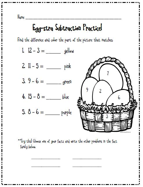 photograph regarding First Grade Assessment Test Printable identify Stepping into Initial Quality: One more Easter report!