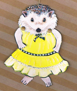 Hedgehog Paper Doll