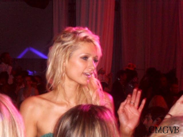 fashion blogger, Paris Hilton, VIP room, Cannes