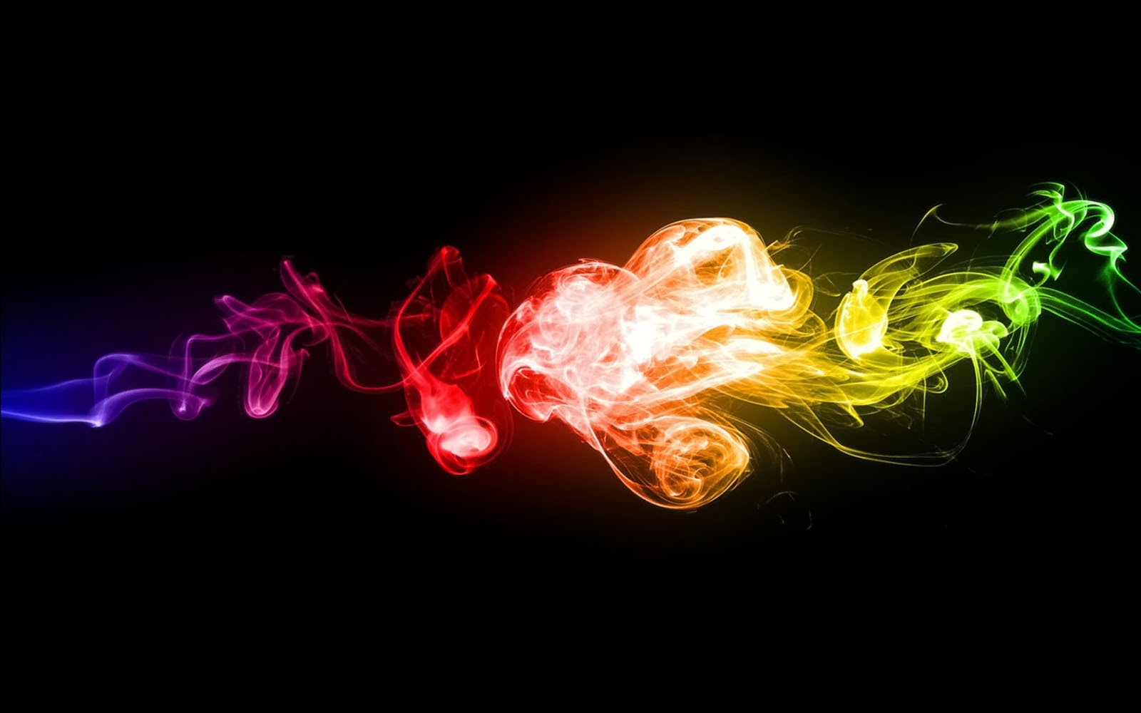 rainbow smoke wallpapers r - photo #31