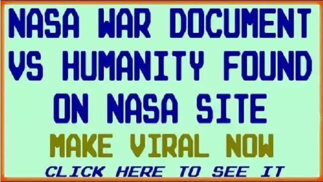 Τα επίσημα έγγραφα της NASA αποκαλύπτουν το σχέδιο μείωσης πληθυσμού στον πλανήτη. (vid)