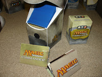 MTG Commander - Ultra Pro Box filled