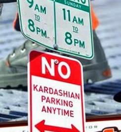 La Familia Kardashian se quedan sin Parking