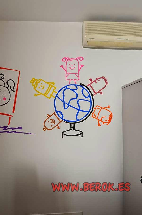 Mural psicología infantil