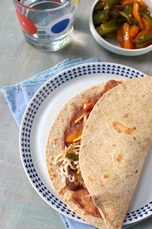Honduras -- Baleadas (Vegetarian Recipe)